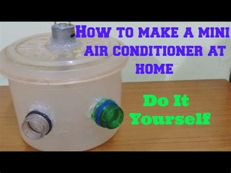 how can i tell if my air conditioner capacitor is bad how to make a mini air conditioner at home