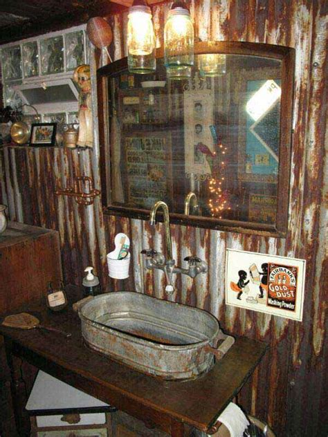 Man Cave Bathroom Ideas by 30 Inspiring Rustic Bathroom Ideas For Cozy Home Amazing
