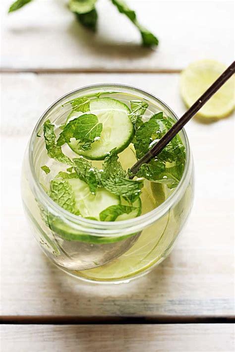 Cucumber Lemon Mint Detox Drink Recipe by Cucumber Lemon Detox Drink Recipe Detox Drink Recipes