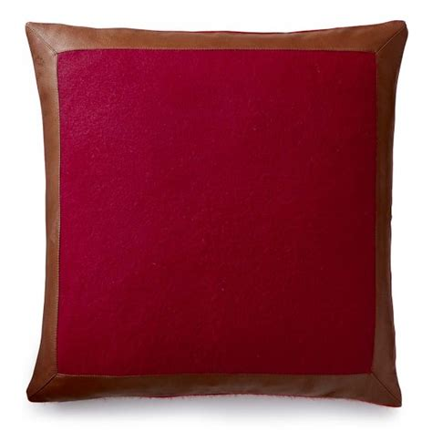 Leather Pillows Sale by And Leather Pillow Cover Williams Sonoma