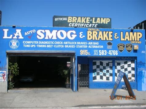 brakes and lights inspection near me la auto smog repair smog check stations los angeles