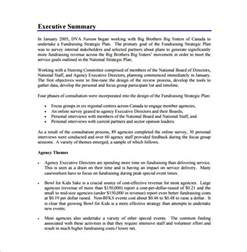 focus planning template fundraising plan template 7 free word pdf documents
