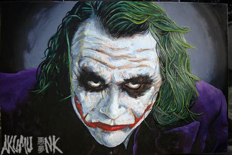 joker painting news akumu ink clothing