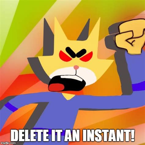 Cartoon Meme Maker - image tagged in angry cartoon cat imgflip