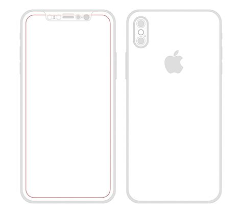 I Phone Sketches by Apple Iphone 8 Dummy Model Appears Dual No Touch