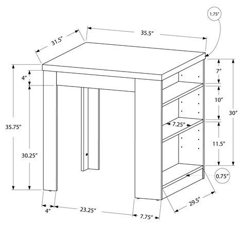 Table Hauteur Comptoir by Table Hauteur Comptoir Simple Un Bar Pour Tabouret