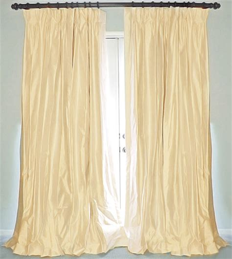 dupioni drapes cream silk dupioni drapes curtains curtains new