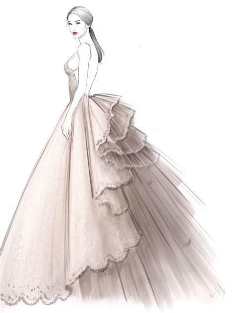 fashion illustration wedding dresses alex tang illustrations fashion illustration illustrations fashion
