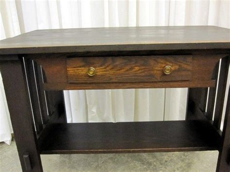 mission desk for sale antique oak mission arts crafts library table desk for