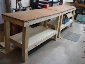 Build A Garage Plans build workbench garage plans pdf plans woodworking plans stool