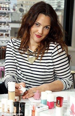 Drew Barrymore Signs Major Caign With Covergirl Cosmetics by Drew Barrymore Debuts Budget Friendly Cosmetics Line After
