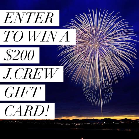 Can You Use Jcrew Gift Card At J Crew Factory - j crew gift card giveaway peaches in a pod