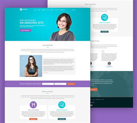 Web Development Company Website Template Free Psd Download Download Psd Web Development Website Template