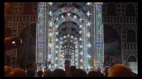 pavimenti per di cagna luminarie a ritmo di musica festa madonna della lizza