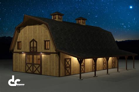 Gambrel Barn Plans barn gambrel 60 floor plans 4 jpg barn ideas pinterest gambrel