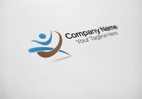 Fitness Logo Design Template Logo Templates On Creative Market Fitness Logo Design Templates
