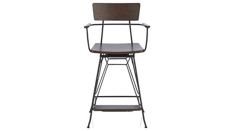 Crate And Barrel Bar Stool Elston Swivel Bar Stools Crate And Barrel
