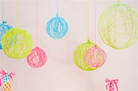 tutorial para decorar con globos bolas de lana para decorar tutorial cosas para comprar
