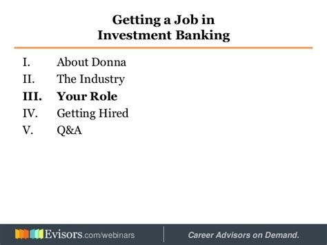 Mba Investment Banking Associate by Getting A In Investment Banking