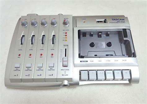 tascam portastudio cassette tascam mf p01 portastudio 4 track cassette recorder reverb