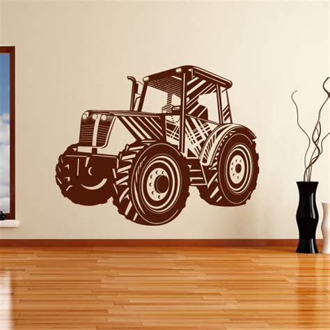 tractor wall stickers tractor transport wall sticker wall decal transfers ebay