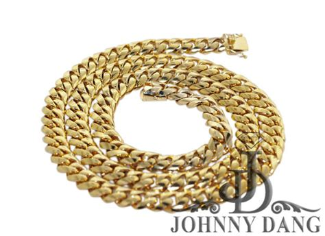 Handmade Cuban Link Chain - cny0009 custom cuban link chain johnny dang co