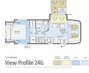 Class C Motorhome Floor Plans by 2013 Winnebago View 24g Class C Northside Rvs