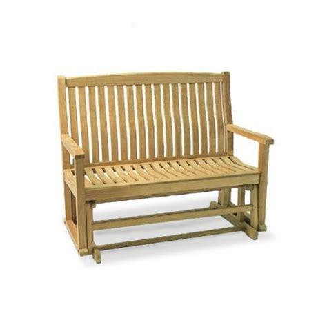 teak glider bench wave glider bench 4 westminster teak outdoor furniture