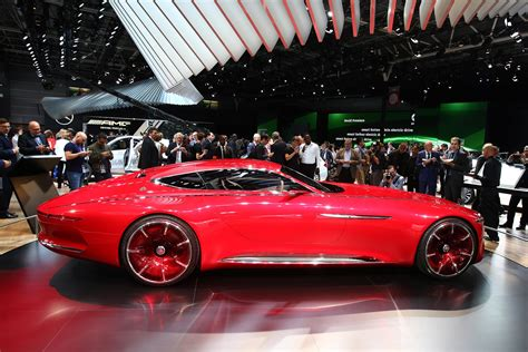 vision mercedes maybach 6 in photos