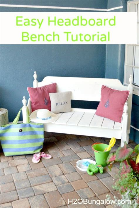 how to make your own headboard and footboard 25 unique headboard benches ideas on pinterest benches