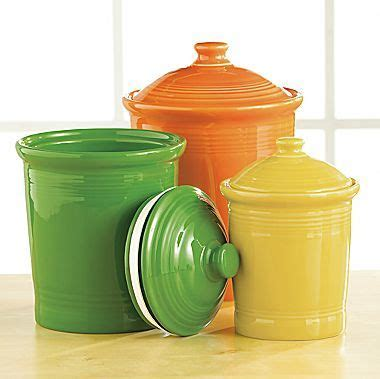 fiesta canisters   sizes jcpenney  colors    good   kitchen fiesta