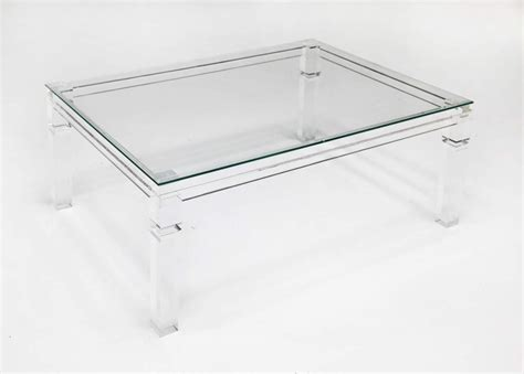 acrylic and glass coffee table acrylic and glass coffee table perch decor