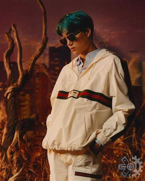 kai exo jadi idol kpop pertama brand ambassador gucci