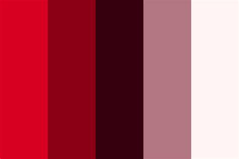 color ruby ruby color palette
