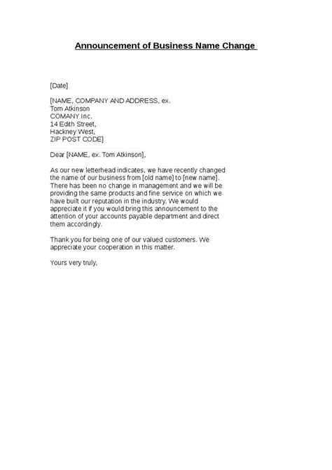 Business Change Of Address Letter To Clients 28 business letter announcing change of address 7
