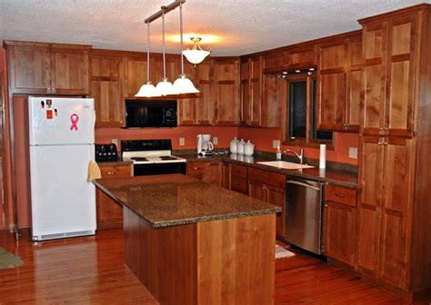 Alder Wood Cabinets Kitchen Alder Kitchen Cabinets Cronen Cabinet And Flooring