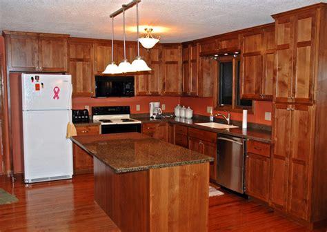 Alder Kitchen Cabinets   Cronen Cabinet and Flooring