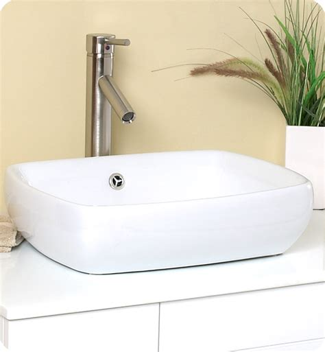fresca bellezza white modern vessel sink bathroom vanity direct to you furniture