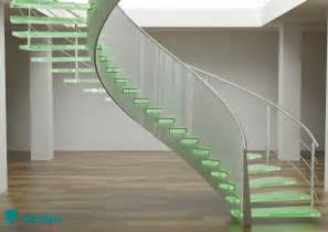 Helical Stairs Design Cool Spiral Glass Staircase Ifresh Design