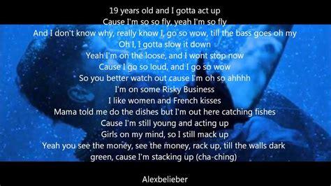 justin bieber rap song list acting up justin bieber rap lyrics youtube