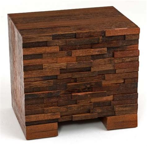 modern wood end tables modern rustic end tables refined rustic nightstands