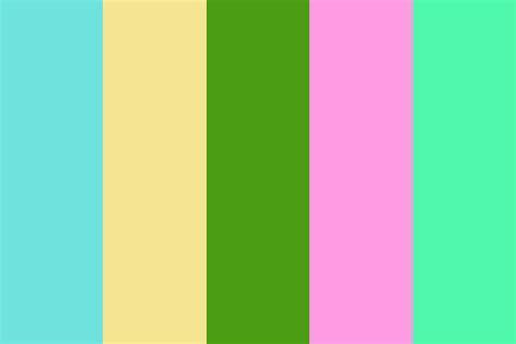hawaiian island colors hawaiian island color palette