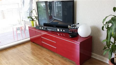 ikea besta red besta burs ikea tv unit red gloss finish for sale in