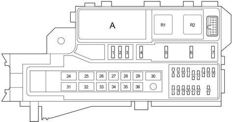 toyota hilux   fuse box diagram auto genius