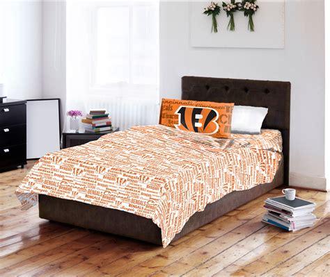 bengals bedding cincinnati bengals bed sheet set nfl football team