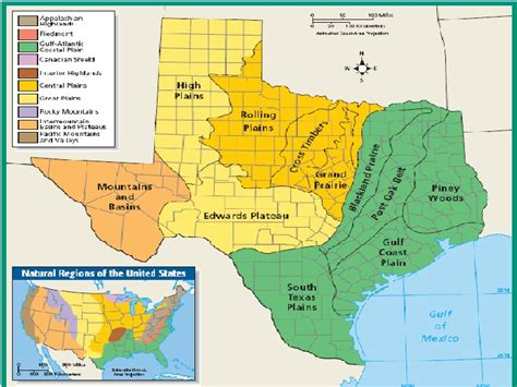 plains of texas map tx history ch 3 4