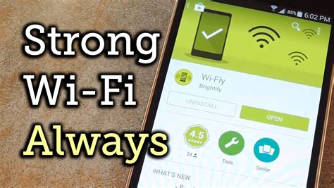 The Wi Fi Umbrella Will Make You For by Make Android Auto Select The Strongest Wi Fi Connection