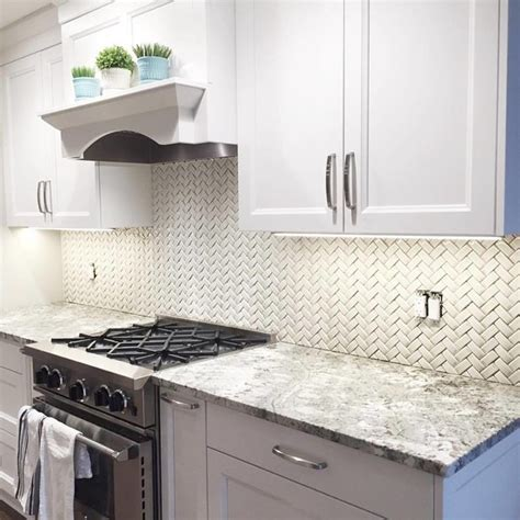 herringbone kitchen backsplash sonoma tilemakers arched herringbone backsplash