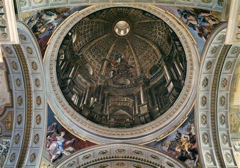 volta a cupola la volta dipinta da andrea pozzo nella chiesa di sant