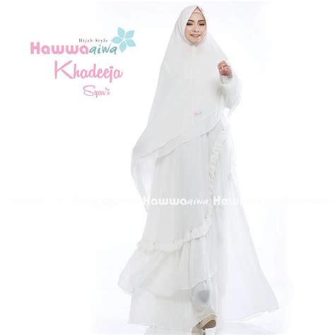 Gamis Syari Tania Bahan Bublepop Original Sesuai Foto murah n ori collection khadeeja premium syar i by hawwa aiwa